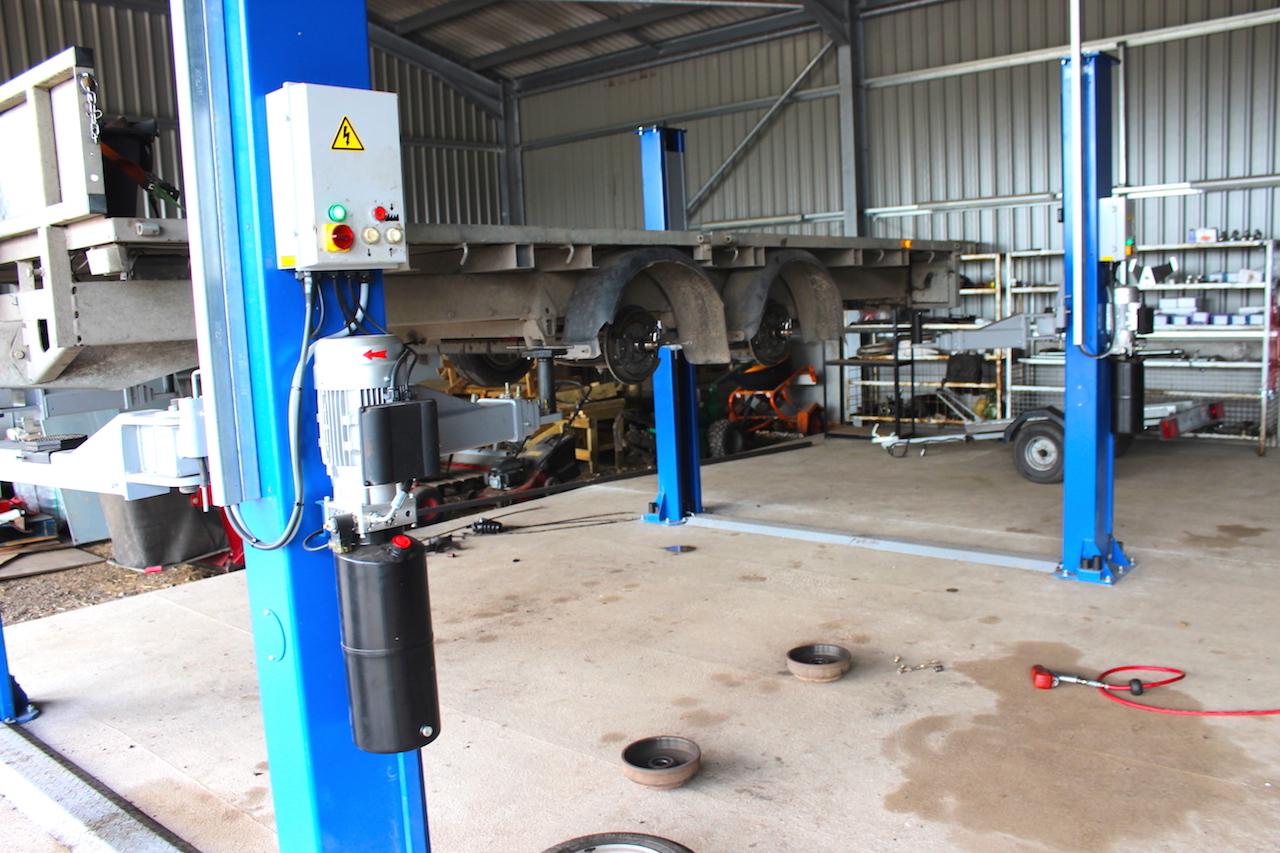 Cheshire Trailer Repairs | Trailer Repairs | inspection bay