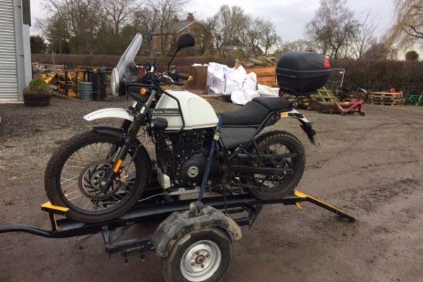 Cheshire Trailer Repairs | Bike Trailer Hire Cheshire and North West | Bike on Trailer