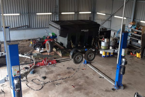 Cheshire Trailer Repairs | Trailer Hire and Repair Cheshire and North West | Gritter Trailer