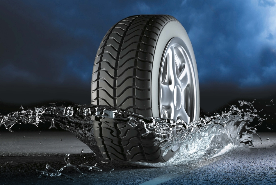 Cheshire Trailer Repairs | Trailer Hire and Repair Cheshire and North West | New tyre in water