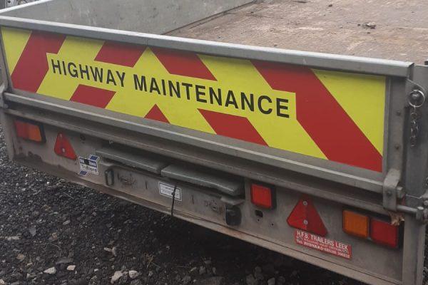 Cheshire Trailers | Trailer Hire, Repair & Sales, Cheshire | Highway maintenance trailer
