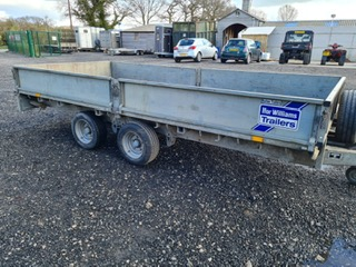 Cheshire Trailers   Trailer Hire, Repair & Sales, Cheshire   Trailer side view