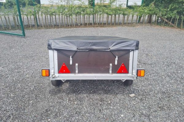Cheshire Trailers   Trailer Hire, Repair & Sales, Cheshire   Trailer and cover rear