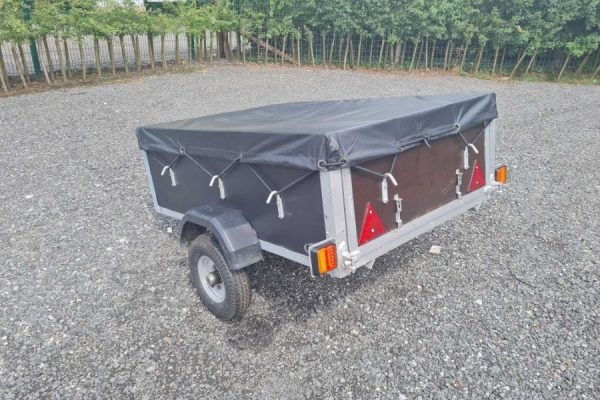 Cheshire Trailers   Trailer Hire, Repair & Sales, Cheshire   Trailer and cover front